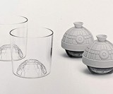 Star Wars Death Star Glass & Ice Mold Set