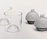 Star Wars Death Star Glass & Ice Mold Set
