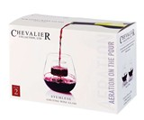 Stemless Aerating Wine Glass Set