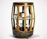 The Balvenie Reclaimed Whiskey Barrel Bar Cart