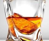 Twist Whiskey Glass
