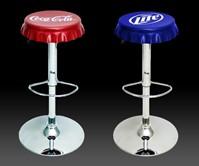 Bottle Cap Bar Stools