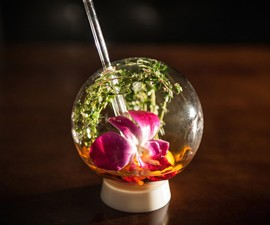 Mixologist's Bubble Cocktail Glass