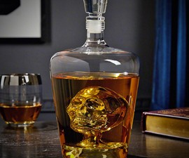 Phantom Skull Decanter