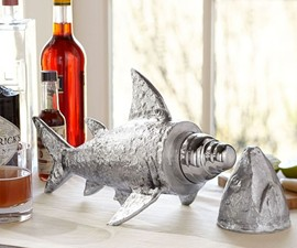 Shark Cocktail Shaker