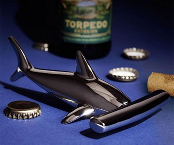 Hammerhead Shark Dual Bottle Opener
