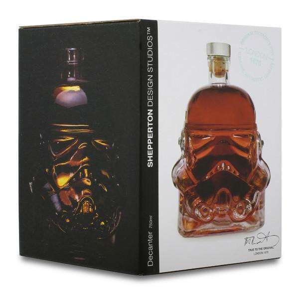 Stormtrooper Whiskey Decanter Amp Shot Glass Dudeiwantthat Com