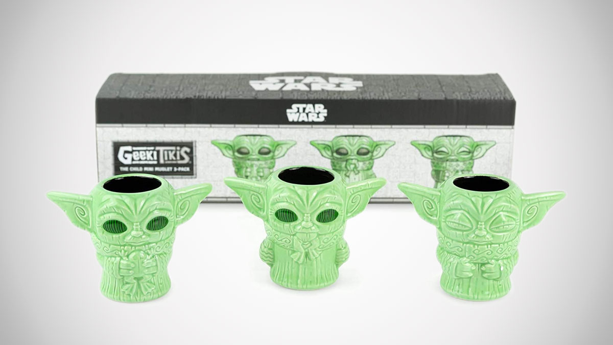 The Mandalorian The Child Mini Tiki Muglets