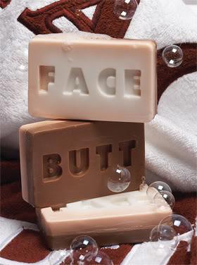 ButtFace Soap
