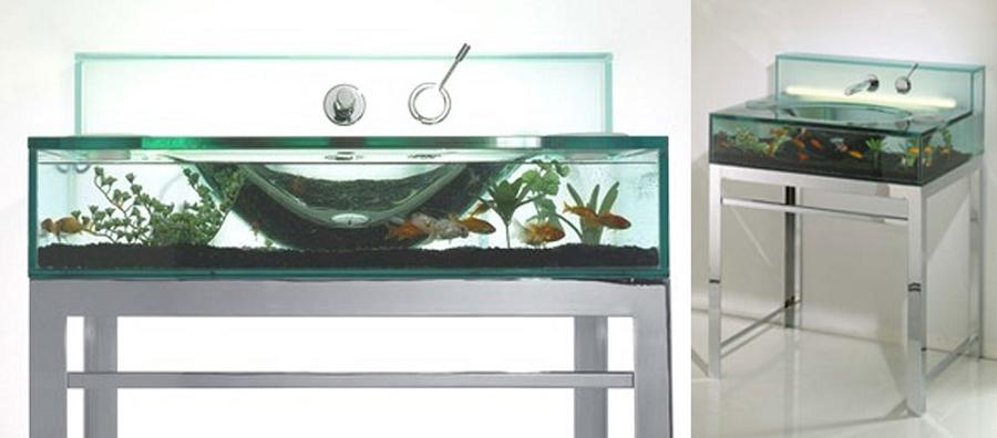Fish Aquarium Sink Dudeiwantthat Com
