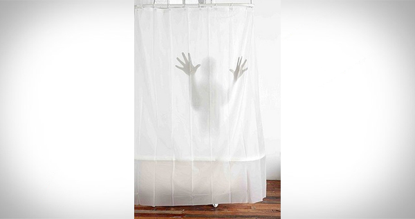 Cedar oil wood preservative hands shower curtain wall for Psycho shower curtain and bath mat