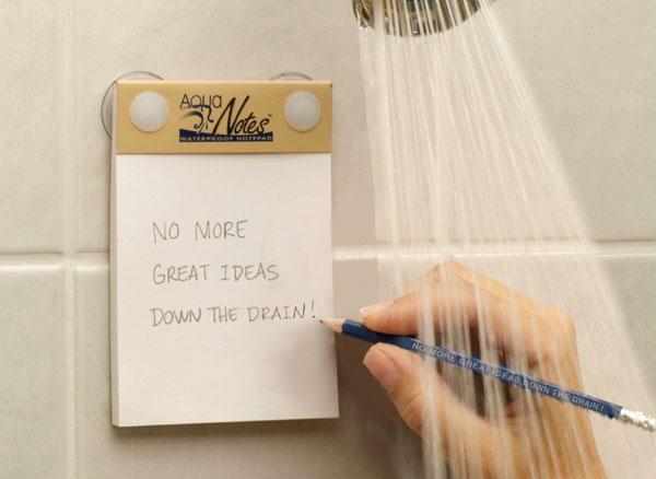 Aqua Notes Waterproof Notepad Dudeiwantthat Com