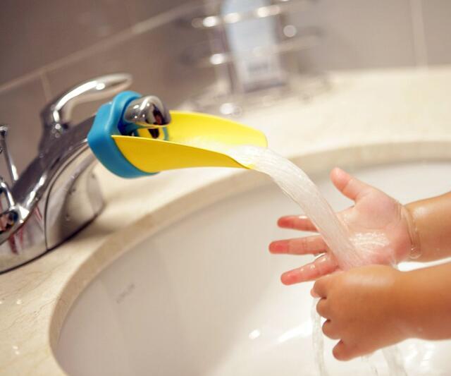 Bathroom Faucet Extender aqueduck faucet extender | dudeiwantthat