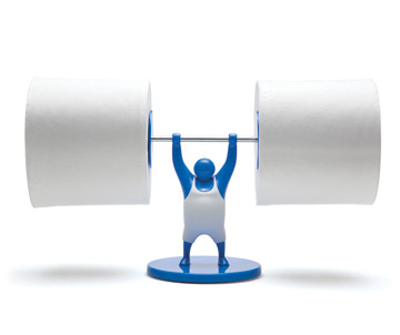 Mr t strong man toilet paper holder - Porte papier toilette ikea ...