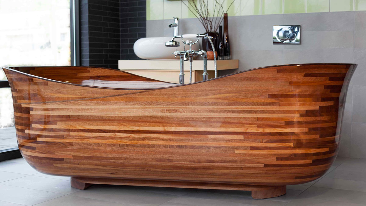 NK Woodworking Wood Bathtubs