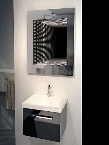 bathroom infinity mirror reflection led infinity mirror dudeiwantthat 10806