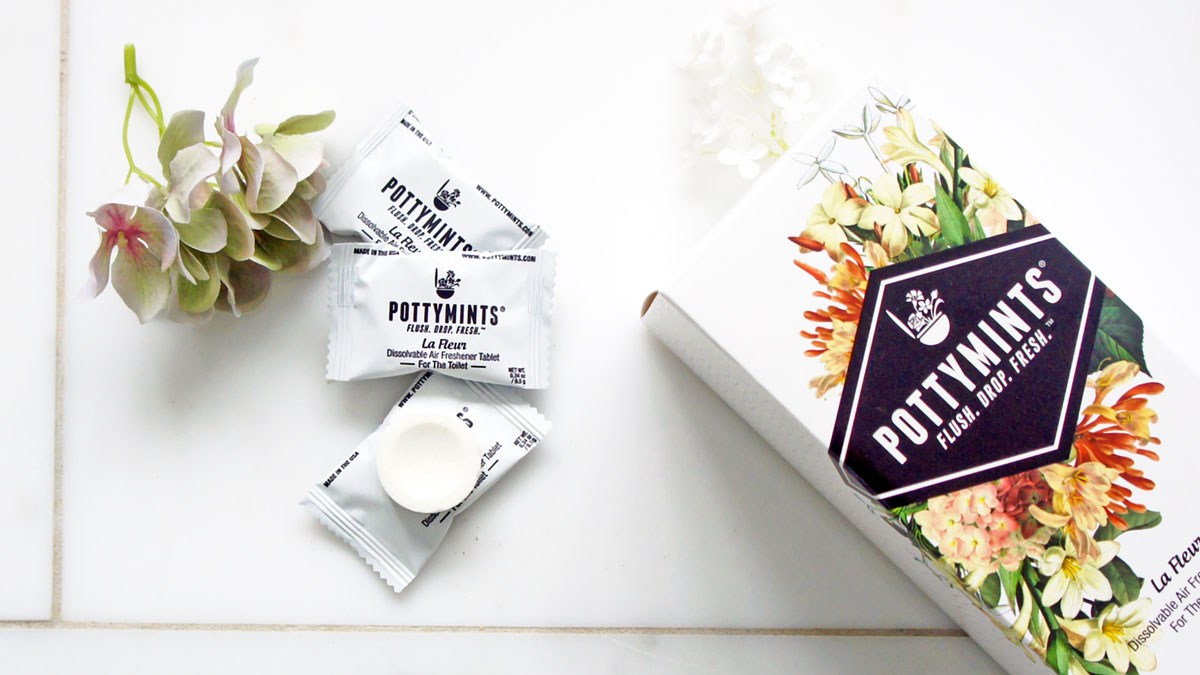 PottyMints After-the-Flush Air Freshener Toilet Tablets