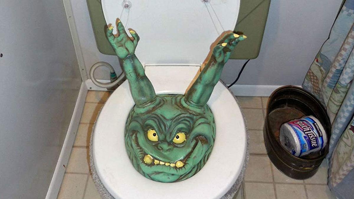 Prank Toilet Goblin