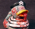 Zombie Rubber Duckies - Pirate