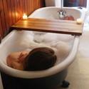 Wood Tub Caddy