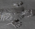 Han Solo in Carbonite Soap - Closeup