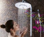 H2OVibe Showerhead with Bluetooth Speaker