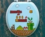 Super Mario Bros. Toilet Seat