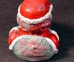 Zombie Rubber Duckies - Santa Claus Rear View