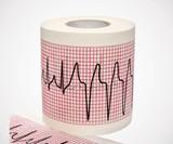 EKG Rhythm Strip Toilet Paper