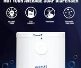 ESNTL Soap Dispenser with 20 Second Light Timer