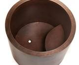 Hammered Copper Soaking Tub