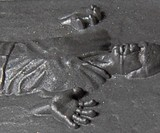Han Solo in Carbonite Soap - Closeup