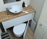 Hidealoo Retractable Hidden Toilet