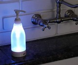 LED Soap Dispenser with Light & Motion Sensors