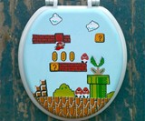 Super Mario Bros. Toilet Seat
