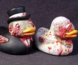 Zombie Rubber Duckies - Bride & Groom Side View