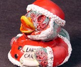 Zombie Rubber Duckies - Santa Claus