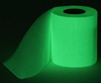 Glowing Toilet Paper