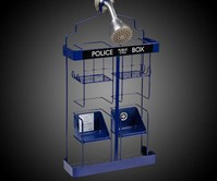 Doctor Who TARDIS Shower Rack