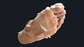 Baby Foot Human Molting Peel