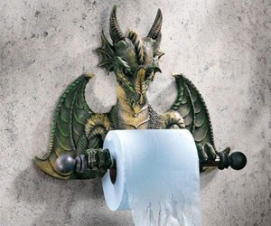 Dragon Style Toilet Paper Holder