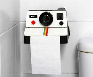 Polaroll - Polaroid Toilet Paper Holder