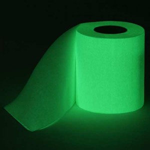 Glowing Toilet Paper