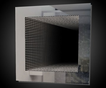 infinity bathroom mirror reflection led infinity mirror dudeiwantthat 13244