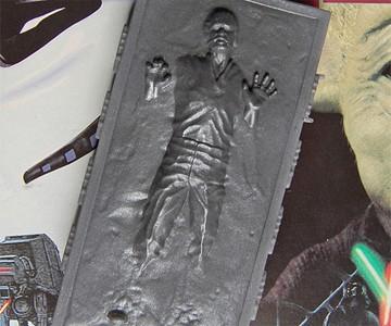 Han Solo in Carbonite Soap