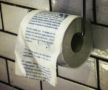 Horror Novel Toilet Paper