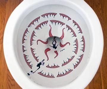 Sarlacc Toilet Decals