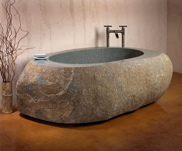 Stone Forest Natural Bathtub