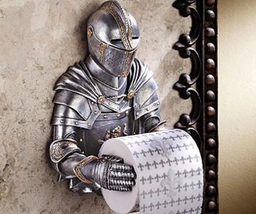 Valiant Knight Toilet Paper Holder