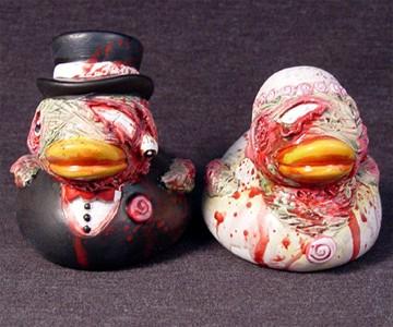 Zombie Rubber Duckies
